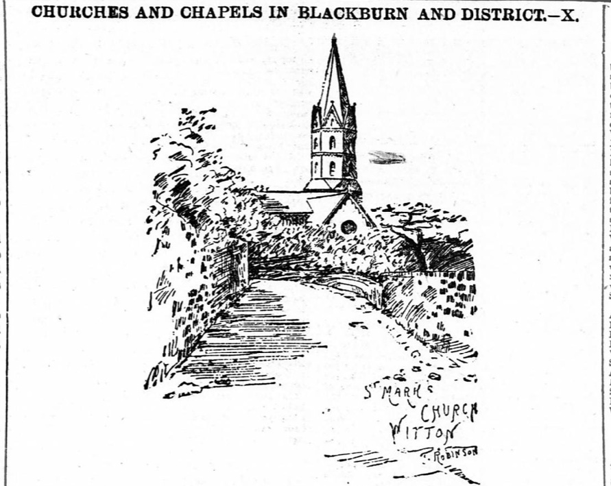 Article-St. Mary's Church, Witton-The Weekly Standard and Express, 18 Aug 1894-1